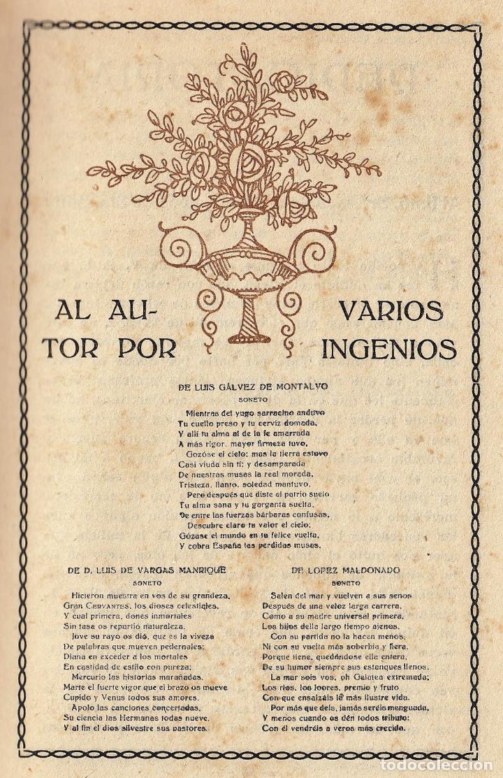 Libros antiguos: MIGUEL DE CERVANTES LA GALATEA MAUCCI 1916 1ª EDICIÓN (?) DIBUJOS ALSINA MUNNÉ LUIS CARLOS VIADA - Foto 8 - 136059102