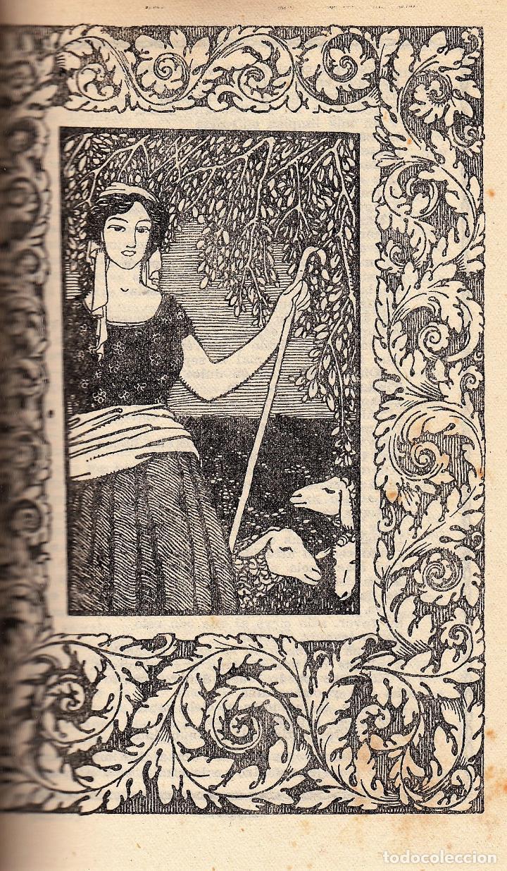 Libros antiguos: MIGUEL DE CERVANTES LA GALATEA MAUCCI 1916 1ª EDICIÓN (?) DIBUJOS ALSINA MUNNÉ LUIS CARLOS VIADA - Foto 10 - 136059102