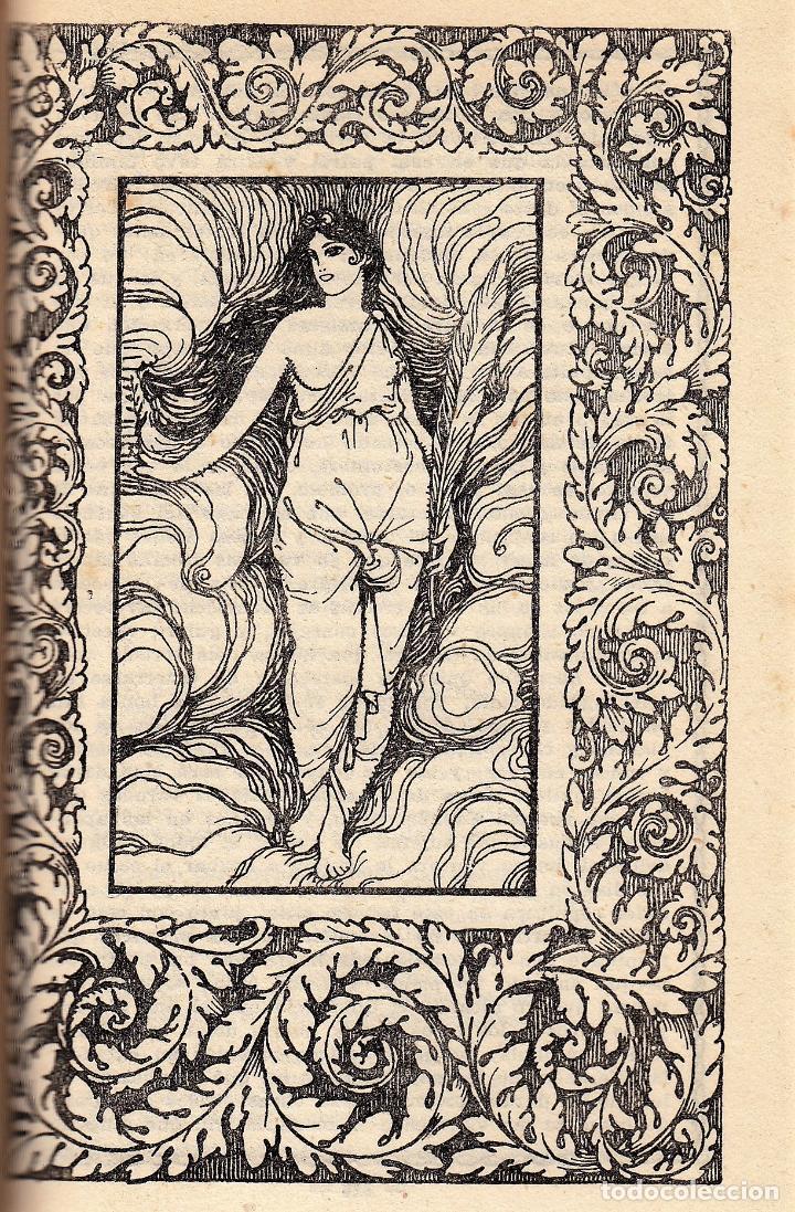 Libros antiguos: MIGUEL DE CERVANTES LA GALATEA MAUCCI 1916 1ª EDICIÓN (?) DIBUJOS ALSINA MUNNÉ LUIS CARLOS VIADA - Foto 13 - 136059102