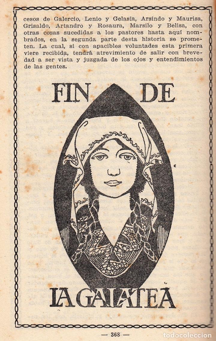 Libros antiguos: MIGUEL DE CERVANTES LA GALATEA MAUCCI 1916 1ª EDICIÓN (?) DIBUJOS ALSINA MUNNÉ LUIS CARLOS VIADA - Foto 14 - 136059102