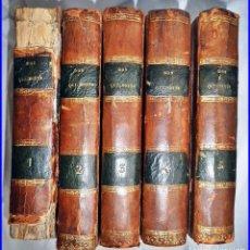 Libros antiguos: AÑO 1771: DON QUIJOTE DE LA MANCHA. 5 TOMOS DEL SIGLO XVIII.. Lote 136157722