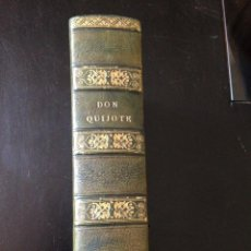 Libros antiguos: EL INGENIOSO HIDALGO DON QUIJOTE DE LA MANCHA CERVANTES ED. PARIS LIBRERIA EUROPA DE BAUDRY 1835. Lote 136423370