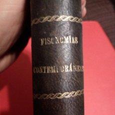 Libros antiguos: FISONOMIAS CONTEMPORANEAS - HECHOS Y DICHOS - JOSE SELGAS . - AÑO 1889 - . Lote 136750954