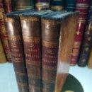 Libros antiguos: EL JUDÍO ERRANTE - EUGENIO SÜE - TOMOS I,II Y III - IMPRENTA POPULAR - MADRID - 1845 -. Lote 137179118