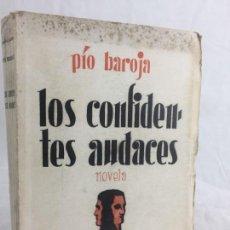 Libros antiguos: PÍO BAROJA LOS CONFIDENTES AUDACES 1ª EDICIÓN 1931 ESPASA CALPE MEMORIAS HOMBRE DE ACCIÓN BUEN ESTAD. Lote 137252926