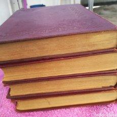 Libros antiguos: OBRAS COMPLETAS DE JOSÉ ZORRILLA. GALERÍA DRAMÁTICA. 4 TOMOS. MANUEL P. DELGADO, EDITOR, MADRID. Lote 137608386
