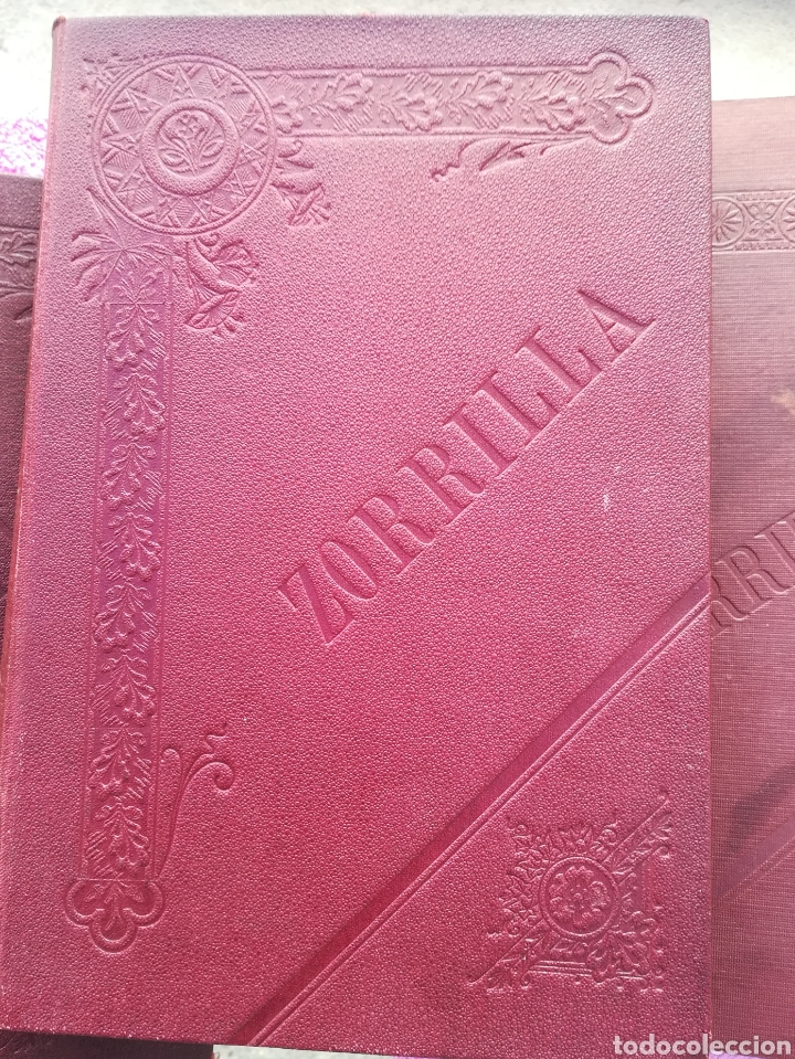 Libros antiguos: Obras completas de José Zorrilla. Galería Dramática. 4 tomos. Manuel P. Delgado, editor, Madrid - Foto 5 - 137608386