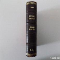 Libros antiguos: LIBRERIA GHOTICA. AZORÍN. LECTURAS ESPAÑOLAS.PAISAJE DE ESPAÑA. 1939. .2A EDICIÓN. EDICIÓN EN PIEL. Lote 137840062