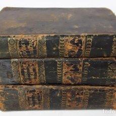 Libros antiguos: EL CONDE DE MONTECRISTO. TOMOS I, II Y III. ALEJANDRO DUMAS. IMP. M. SAURI. 1846.. Lote 159952056