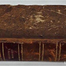 Libros antiguos: GULLIVER'S TRAVELS. TOMOS I Y II EN I VOLUMEN. JONATHAN SWIFT. PARÍS. 1822.. Lote 137973758