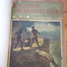 Libros antiguos: EL CONDE DE MONTE CRISTO. ALEJANDRO DUMAS - LA NOVELA ILUSTRADA-1920- COMPLETA 4 TOMOS ENCUADERNADOS. Lote 138093730