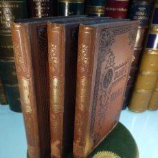 Libros antiguos: EPIGRAMAS - MARCO VALERIO - 3 TOMOS - BIBLIOTECA CLÁSICA - L. VIUDA DE HERNANDO Y Cª - MADRID - 1890. Lote 138186218