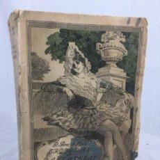Libros antiguos: TROTERAS Y DANZADERAS PRIMERA EDICIÓN RAMÓN PÉREZ DE AYALA BUEN ESTADO RÚSTICA ORIGINAL 1912. Lote 138684446