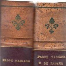 Libros antiguos: PADRE JUAN DE MARIANA. OBRAS. 2 VOLS. MADRID, 1931-1926. BIBLIOTECA AUTORES ESPAÑOLES, 30 Y 31. Lote 138719518