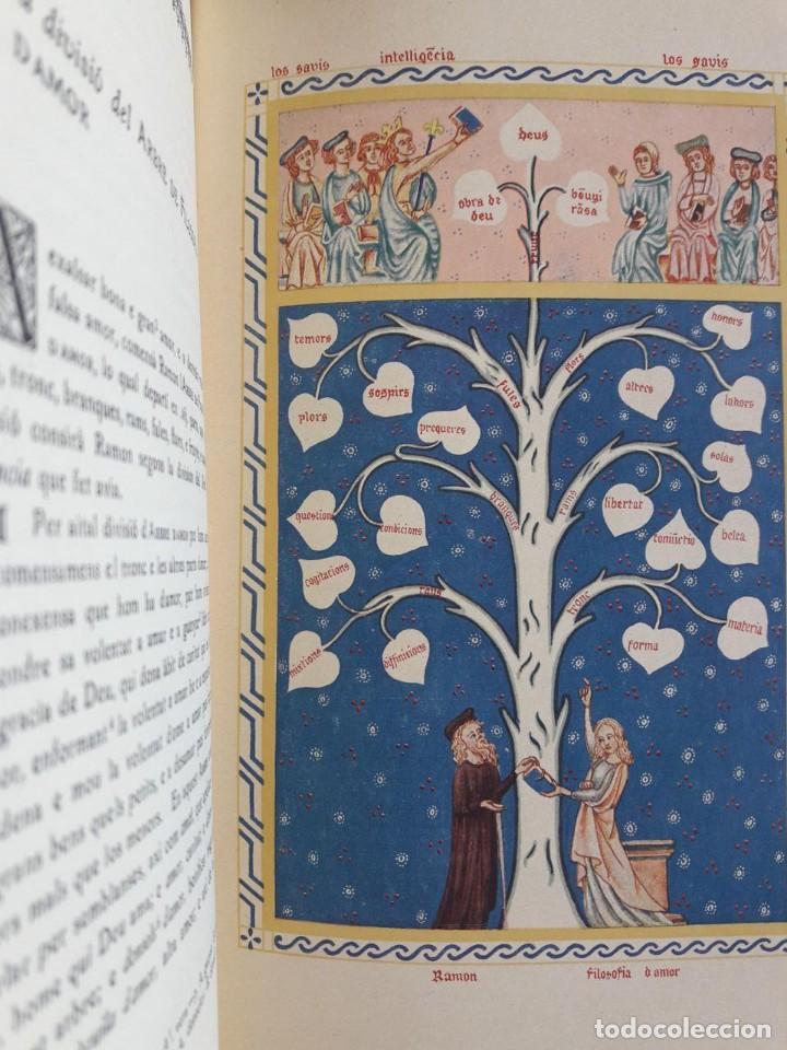 Libros antiguos: OBRES DE RAMON LLULL, L. DINTENCIO, ARBRE DE FILOSOFIA DAMOR... / MOSS. SALVADOR GALMÉS / 1935 - Foto 3 - 138757606