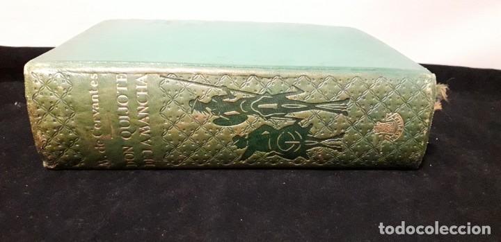 LIBRO DON QUIJOTE DE LA MANCHA CON 356 GRABADOS (Libros antiguos (hasta 1936), raros y curiosos - Literatura - Narrativa - Clásicos)
