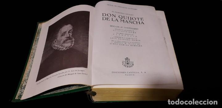 Libros antiguos: Libro Don Quijote de la Mancha con 356 grabados - Foto 3 - 138906050