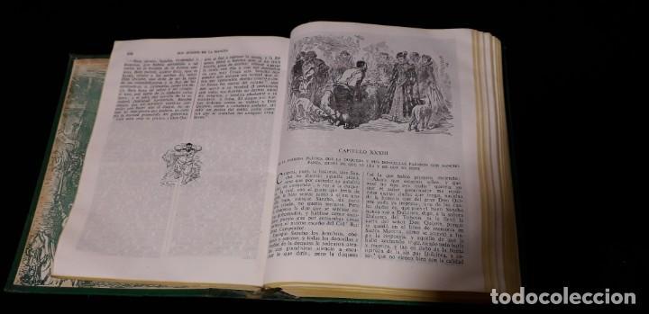 Libros antiguos: Libro Don Quijote de la Mancha con 356 grabados - Foto 5 - 138906050