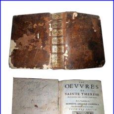 Libros antiguos: AÑO 1676. SANTA TERESA DE JESÚS: CAMINO DE PERFECCIÓN Y OTRAS OBRAS. LIBRO DEL SIGLO XVII DE 25 CM.. Lote 138758918