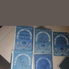 Libros antiguos: LOTE COLECCION UNIVERSAL ESPASA CALPE AÑO 1924. Lote 139158982