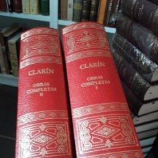 Libros antiguos: CLARIN, OBRAS COMPLETAS. ED. AGUILAR, 2004. Lote 139177526
