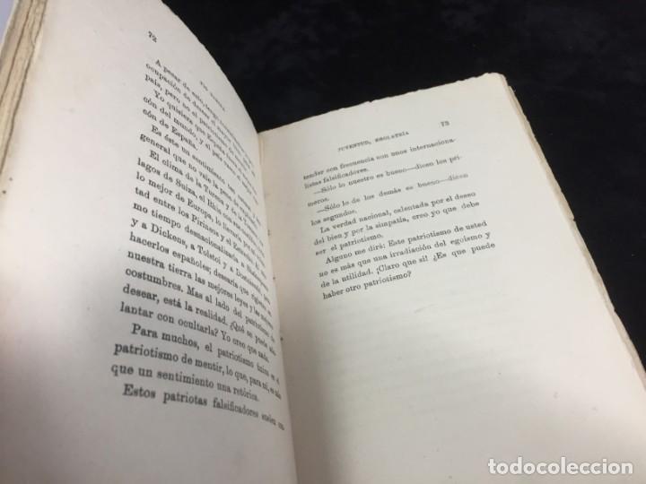 Libros antiguos: Juventud Egolatría primera edición Pío Baroja, Caro Raggio editor 1917 - Foto 5 - 139264398