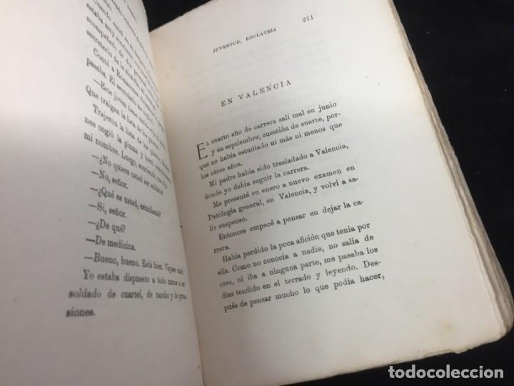 Libros antiguos: Juventud Egolatría primera edición Pío Baroja, Caro Raggio editor 1917 - Foto 7 - 139264398