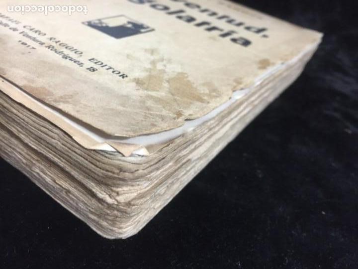 Libros antiguos: Juventud Egolatría primera edición Pío Baroja, Caro Raggio editor 1917 - Foto 9 - 139264398