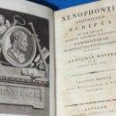 Libros antiguos: XENOPHONTIS (D. XENOPHON) ATHENENSIS SCRIPTA EM USUM LECTORUM ... 1798 - 1802, 5 VOLUMES,. Lote 139313610