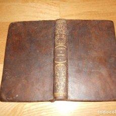 Libros antiguos: 1836 PICARESCA AVENTURAS DE GIL BLAS DE SANTILLANA - ILUSTRADO, LÁMINAS GRABADAS SOLO TOMO TERCERO. Lote 139739498