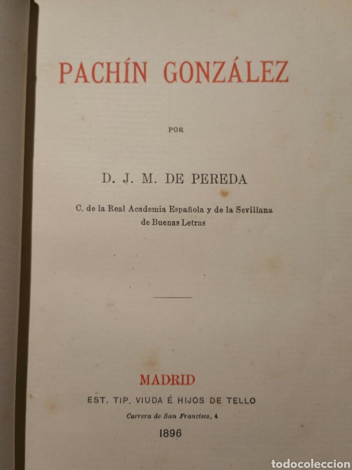 J M Pereda Pachin Gonzalez 1 Edicion 1896 Verkauft Durch