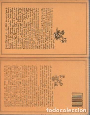 Libros antiguos: Joanot Martorell: Tirant lo Blanc. 2 vols. MOLC, 99-100. 1983. - Foto 2 - 140161110