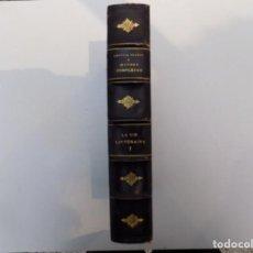 Libros antiguos: LIBRERIA GHOTICA. BELLA EDICIÓN DE BIBLIOFILO. ANATOLE FRANCE.LA VIE LITTERAIRE.1926.FOLIO.ILUSTRADO. Lote 140182402