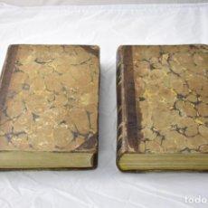 Libros antiguos: EL INGENIOSO HIDALGO DON QUIJOTE DE LA MANCHA. EN DOS TOMOS, AÑOS 1839 Y 1840. Lote 140777706