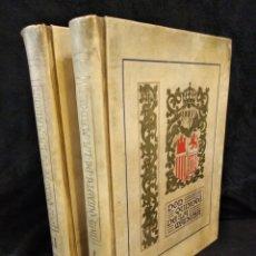 Libros antiguos: MAGNIFICO DON QUIXOTE DE LA MANCHA, EDICIÓN DE OCTAVIO VIADER, 1916. DOS VOLÚMENES.. Lote 140792140