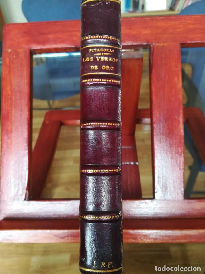 PITAGORAS-LOS VERSOS DE ORO-HIEROCLES-VERS. CAST. MARIO MEUNIER-1929-IMPECABLE (Libros antiguos (hasta 1936), raros y curiosos - Literatura - Narrativa - Clásicos)