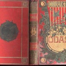 Libros antiguos: HORACIO : ODAS (ARTE Y LETRAS, 1882). Lote 141819814