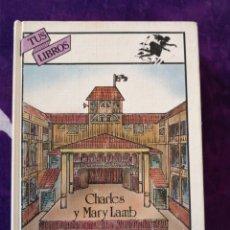 Libros antiguos: CHARLES Y MARY LAMB CUENTOS BASADOS EN EL TEATRO DE SHAKESPEARE. Lote 142387602