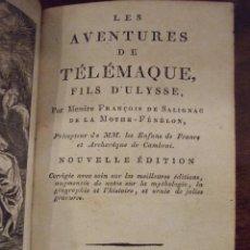 Libros antiguos: LES AVENTURES DE TELEMAQUE FILS D'ULISSE - FENELON - J. ALZINE PERPIGNAN 1805. Lote 142480186