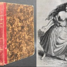Libros antiguos: 1851 LES MYSTÈRES DE PARIS - EUGÈNE SÜE - 87 ILUSTRACIONES. Lote 142756314
