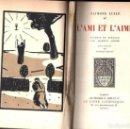 Libros antiguos: RAYMOND LULLE : L' AMI ET L ' AIMÉ (PARIS, 1921) EN FRANCÉS - RAMON LLULL. Lote 142983978