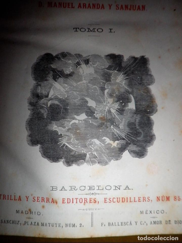 Libros antiguos: OBRAS COMPLETAS DE JULIO VERNE - 1ª EDICION ESPAÑOLA AÑO 1875 - ILUSTRADOS - EXCEPCIONAL. - Foto 5 - 143189410