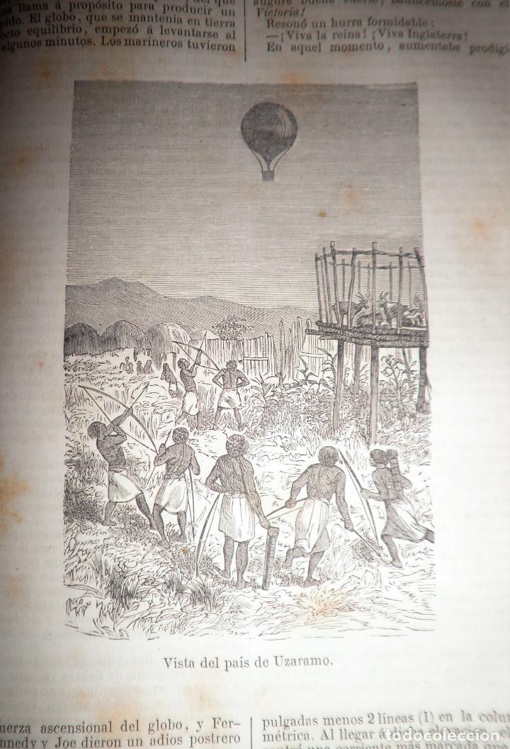 Libros antiguos: OBRAS COMPLETAS DE JULIO VERNE - 1ª EDICION ESPAÑOLA AÑO 1875 - ILUSTRADOS - EXCEPCIONAL. - Foto 16 - 143189410