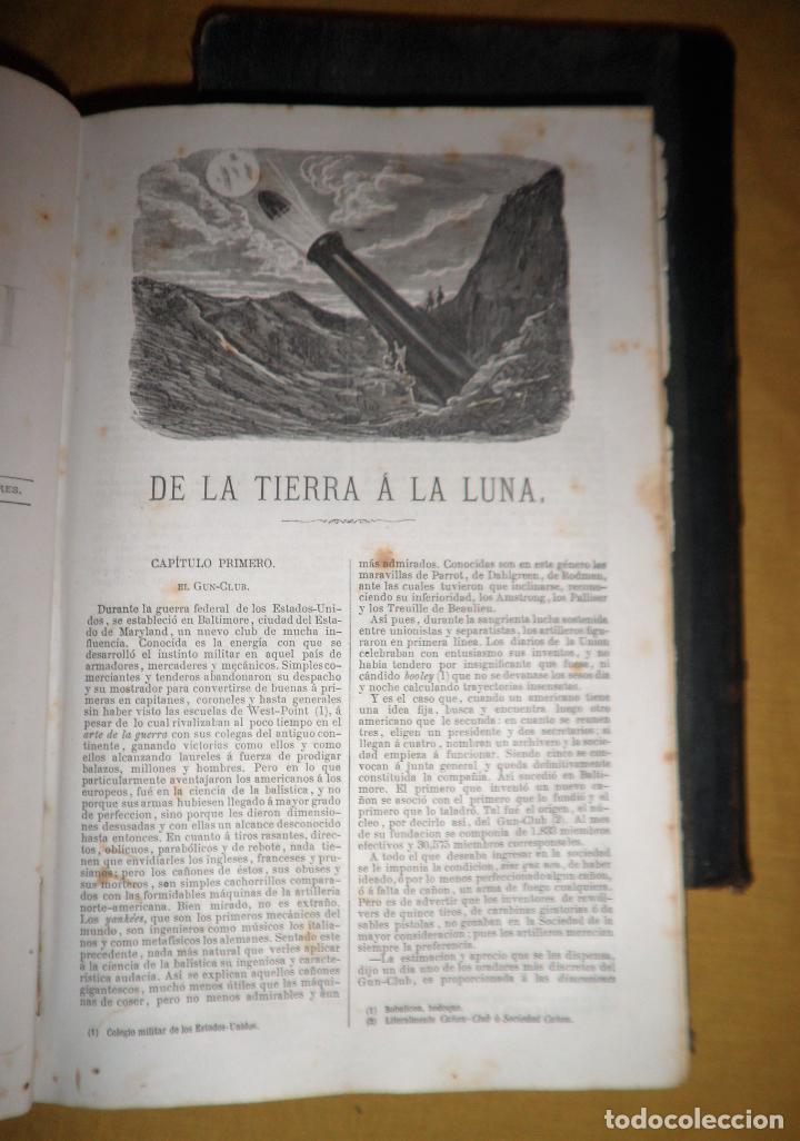 Libros antiguos: OBRAS COMPLETAS DE JULIO VERNE - 1ª EDICION ESPAÑOLA AÑO 1875 - ILUSTRADOS - EXCEPCIONAL. - Foto 20 - 143189410