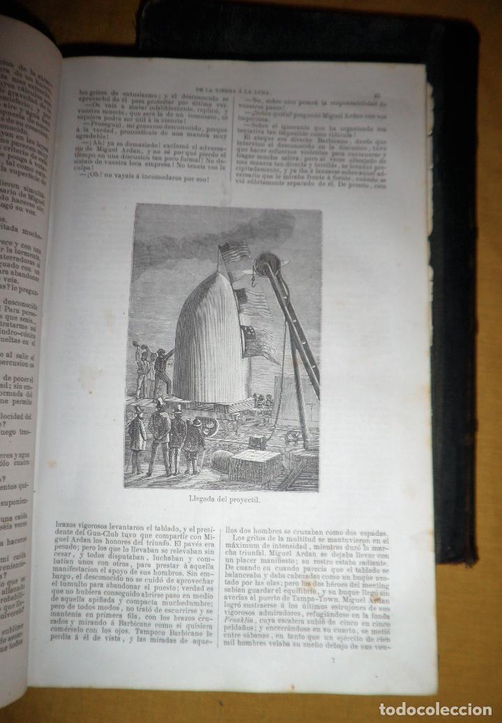 Libros antiguos: OBRAS COMPLETAS DE JULIO VERNE - 1ª EDICION ESPAÑOLA AÑO 1875 - ILUSTRADOS - EXCEPCIONAL. - Foto 21 - 143189410