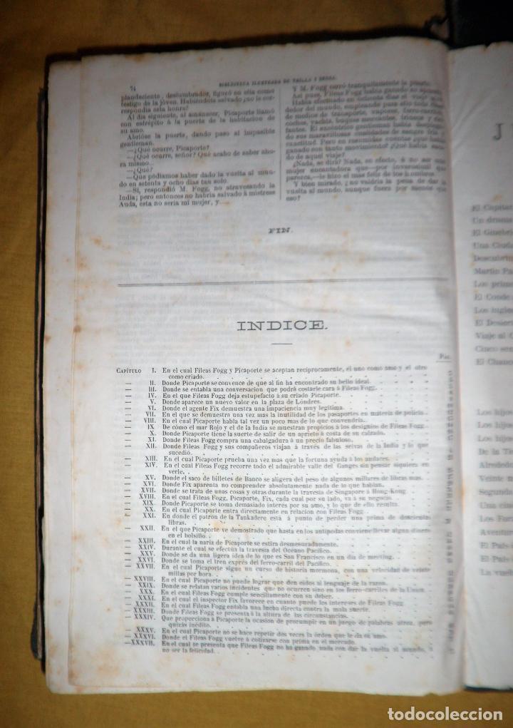 Libros antiguos: OBRAS COMPLETAS DE JULIO VERNE - 1ª EDICION ESPAÑOLA AÑO 1875 - ILUSTRADOS - EXCEPCIONAL. - Foto 27 - 143189410