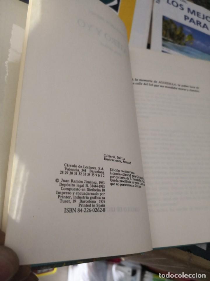 Libros antiguos: Platero y yo - J.R.Jimenez /1963/ circulo de lectores. - Foto 5 - 143226966