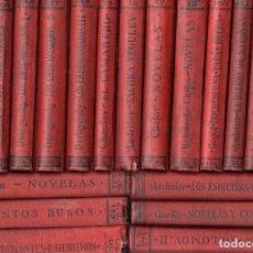 Libros antiguos: NOVELISTAS RUSOS - 22 TOMOS (CALPE, 1920) DOSTOIEVSKY, CHEJOV, GOGOL, ANDREIEV, GORKI.... Lote 143614474