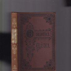 Libros antiguos: CAYO JULIO CESAR, LOS COMENTARIOS - TOMO II - LIBRERIA DE PERLADO, PÁEZ Y CIA. 1914 / MADRID. Lote 143631890
