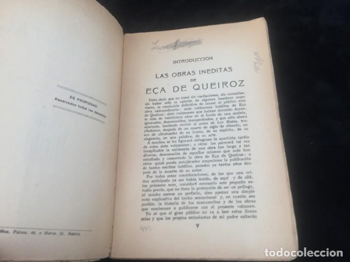 Libros antiguos: La Capital novela EÇA DE QUEIROZ, José María Editorial Signo 1930 - Foto 3 - 143684998